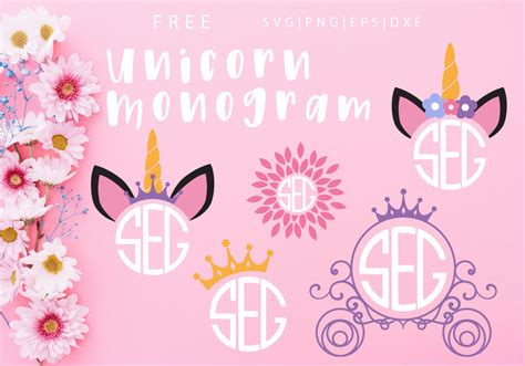 unicorn svg png dxf eps  caluya design