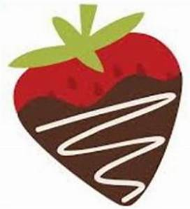 Free Chocolate Covered Strawberry Clipart