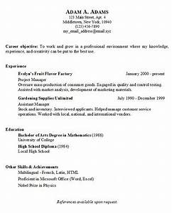 basic resume generator middletown thrall library With free resume copy and paste
