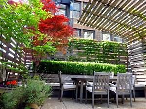 30 gartengestaltung ideen der traumgarten zu hause With französischer balkon mit gartengestaltung für kleine gärten