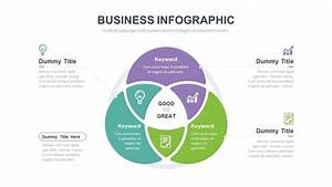 Circle 3 Venn Diagram  Infographic Powerpoint Slide