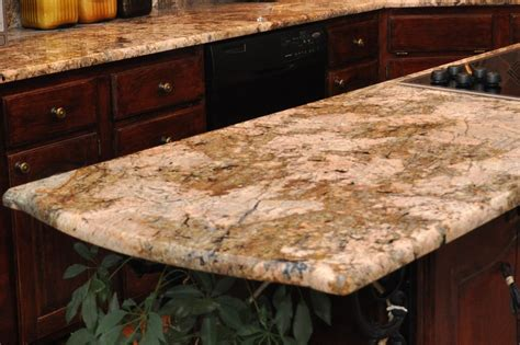 types of granite countertop edges home ideas collection