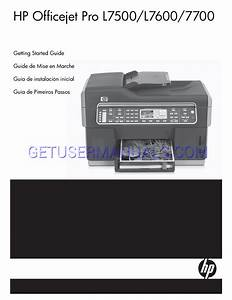 Hp All In One Printer Officejet Pro L7555 All