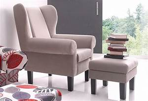 Ohrensessel Mit Hocker Grau : ohrensessel atlantic home collection mit hocker otto ~ Bigdaddyawards.com Haus und Dekorationen