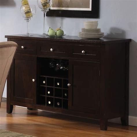 espresso buffet cabinet home furniture design