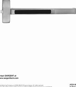 Sargent 80 Series Parts Manual
