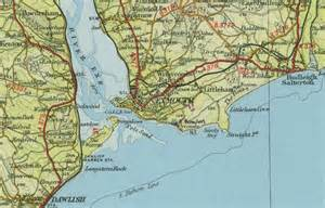 on map exmouth map