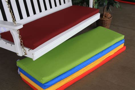 bench cushion 5 2 inch thick 187 amish woodwork