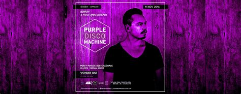 3 Years Of Binary With Purple Disco Machine [11/11/16]