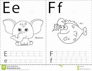 alphabet tracing worksheet kids english worksheets cartoon With letter tracing books