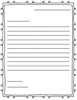 letter writing outline paper great   friendly