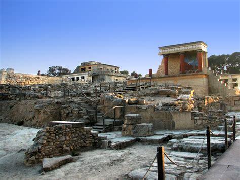 Archaeological Site Of Knossos