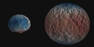 Dwarf Planet Ceres Up To 30 Percent Water | Arizona ...
