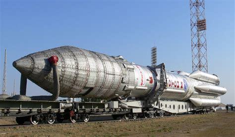 Proton-m Ready To Launch Raduga-1m-3 Military