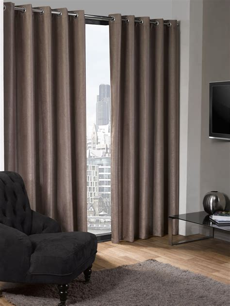 luxe collection textured woven blackout eyelet curtains