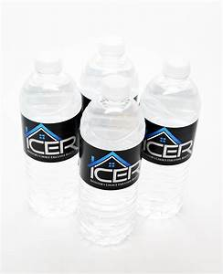 Corporate water bottle label corporate party water for Corporate water bottle labels
