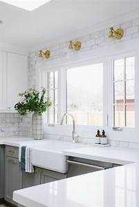 kitchen backsplash tile how high to go driven by decor With kitchen cabinets lowes with let that shit go wall art