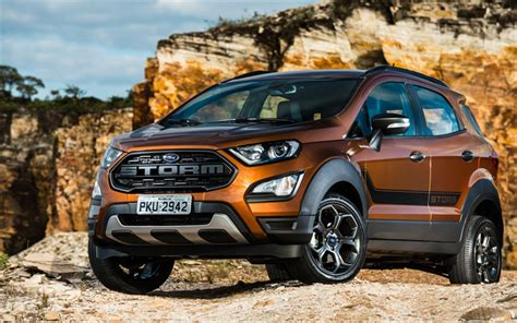 Chevrolet Trax 4k Wallpapers by Wallpapers Ford Ecosport 4k 2018 Cars
