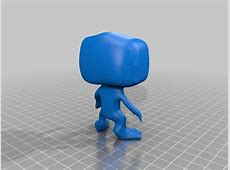 Blank Funko POP figurine by Cam2015 Thingiverse