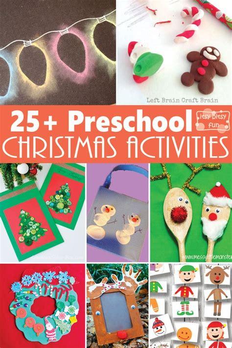 christmas crafts  activities  preschoolers itsybitsyfuncom