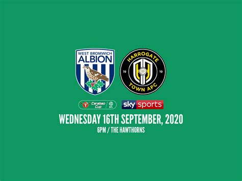 Albion learn Carabao Cup opponents | West Bromwich Albion