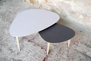 Table Basse Gigogne Scandinave : table basse gigogne scandinave mobilier design ~ Voncanada.com Idées de Décoration