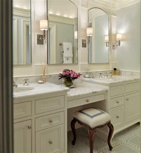 bathroom vanity with sink and makeup area bathroom vanities makeup area style guru fashion glitz