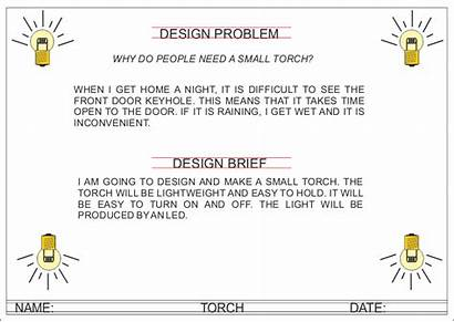 Example Torch Led Brief Problem Simple Briefs