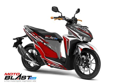 Vario 150 Modif by Modif Striping Honda Vario 150 2018 Fighter Remix