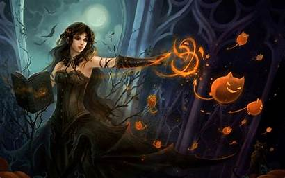 Witch Wallpapers Desktop Backgrounds Computer