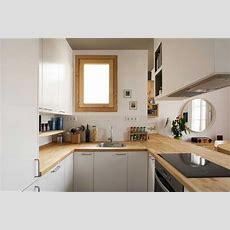 Küche, Arbeitsplatte Küche Eiche Massiv Im Weiß Küchen