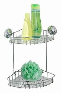 Badablage Ohne Bohren : wenko badablage edelstahl ohne bohren eckregal badregal duschablage duschregal ebay ~ Yasmunasinghe.com Haus und Dekorationen
