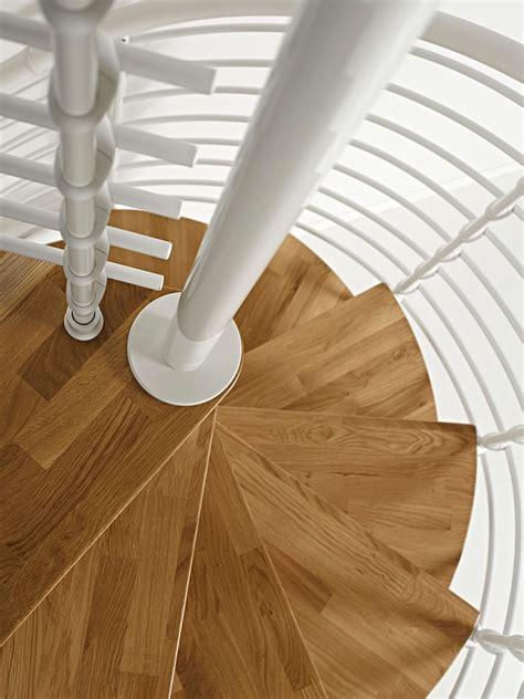 arke  oak xtra wood tread spiral staircase kits