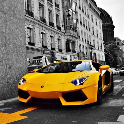 Yellow Lamborghini Aventador 4k Hd Desktop Wallpaper For