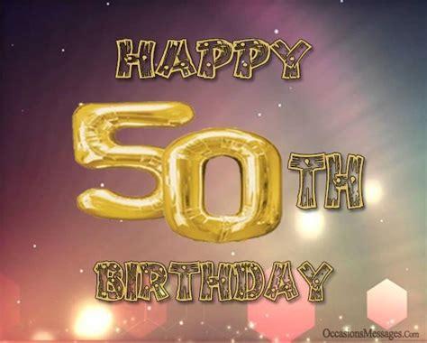 Birthday Wishes 50 Year Old Man