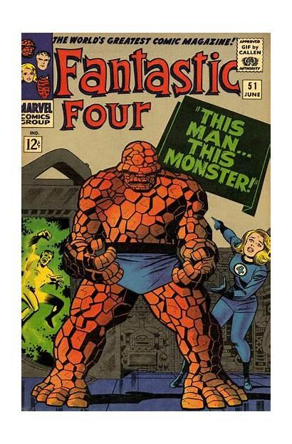 Comics Marvel Fantastic Four Thing Comic Gifs