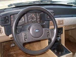 1987 Ford Mustang Lx Notch Back Fox Body Trunk Car 5 Speed