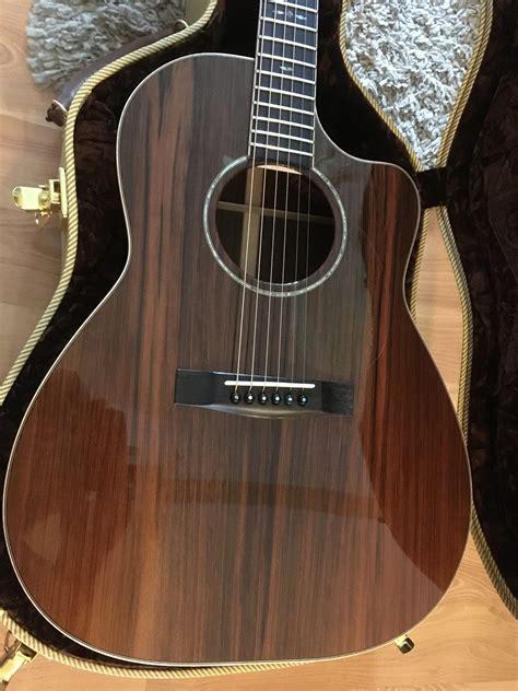 huss dalton custom cm sinker redwoodindian rosewood acoustic guitar