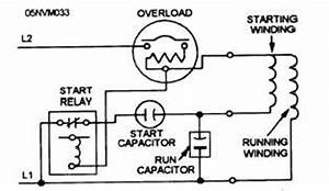 split phase hermetic motor windings and terminals With single phase 240 volt motor wiring diagram with capacitor and starting