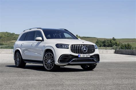 Gallery of 95 high resolution images and press release information. 2021 Mercedes-AMG GLS 63 Revealed
