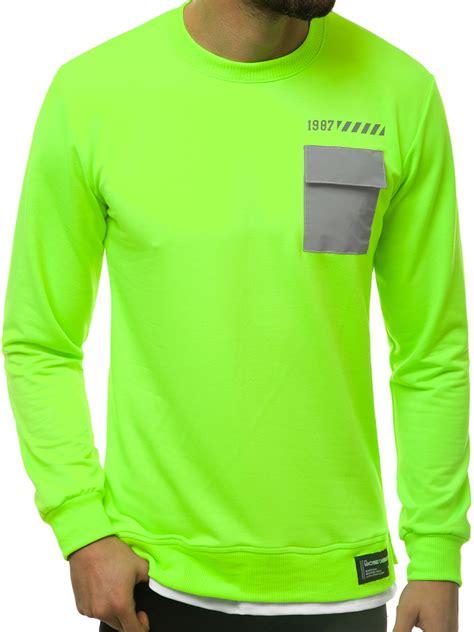 Vīriešu jaka zaļi-neona OZONEE MACH/20373 | OZONEE.LV
