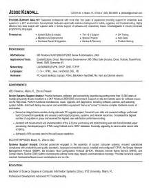 business systems analyst resume berathen