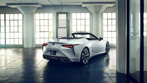 lexus lc convertible concept wallpapers hd images
