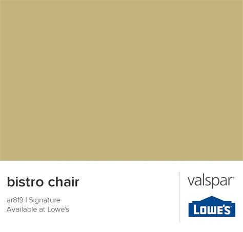 bistro chair from valspar for the home