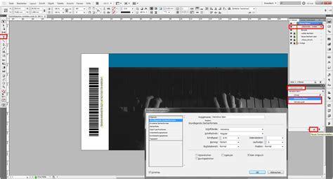 indesign tutorial eintrittskarten erstellen saxoprint
