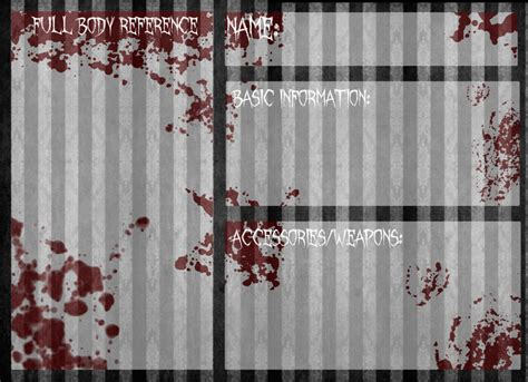 creepypasta oc template reference template creepypasta oc reference base by invaderika on deviantart