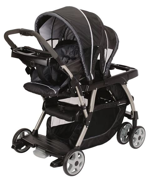 Graco Double Strollertwin Stroller With 2 Car Seats