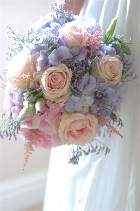 Vintage Wedding Flowers Pastel Colours Lilac Pink Smaller