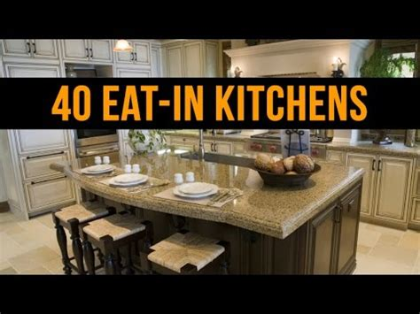 beautiful eat  kitchen design ideas youtube