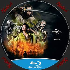 47 Ronin Blu-ray DVD Cover & Label (2013) R1 Custom Art